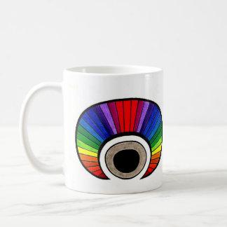 Colorful Coffee Mug Colorful Rainbow