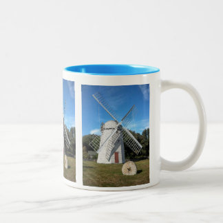 colorful coffee mug  Jamestown RI windmill