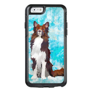 COLORFUL COLLIE BLUE OtterBox iPhone 6/6S CASE