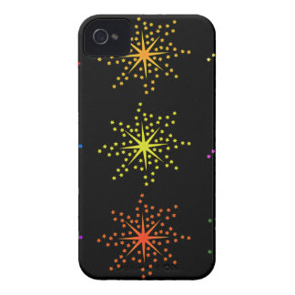 Colorful Comic Explosions iPhone 4 Cases