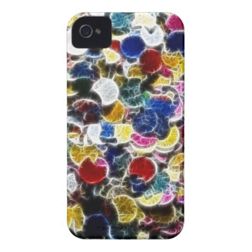 Colorful Confetti Fractal BlackBerry Bold Cover