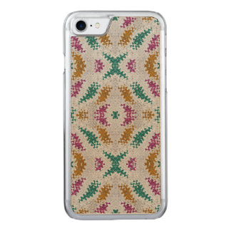 Colorful Confetti Pattern Carved iPhone 7 Case