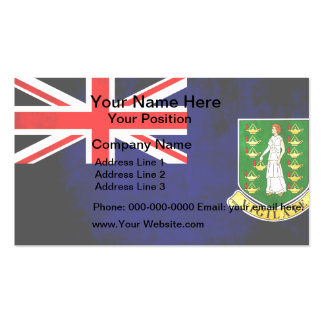 Colorful Contrast B.V. Islander Flag Business Card