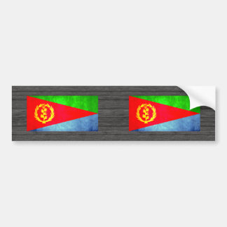 Colorful Contrast Eritrean Flag Bumper Sticker