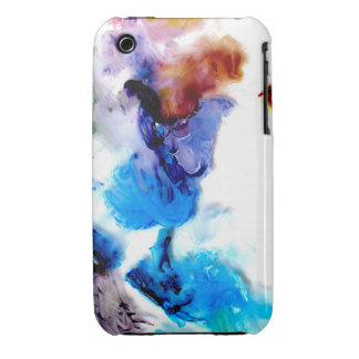Colorful cool abstract paints iPhone 3G-3GS case