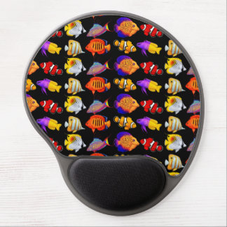 Colorful Coral Reef Fish Gel Mousepad