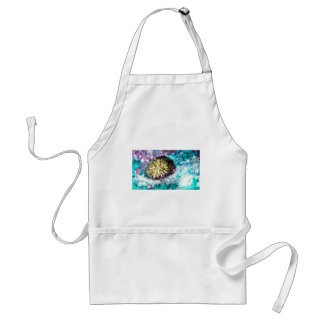 Colorful Coral Reef Sea Urchin Standard Apron