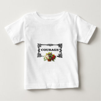 colorful courage art design baby T-Shirt