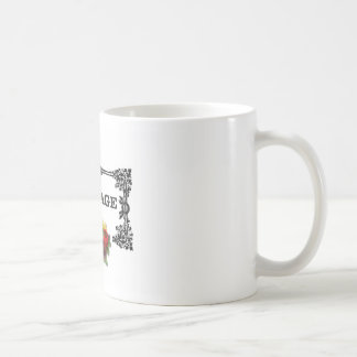 colorful courage art design coffee mug