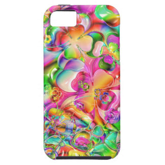Colorful cover flowers abstract iPhone 5 cover