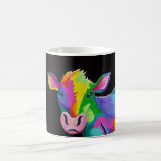 Colorful Cow Coffee Mug