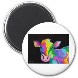 Colorful Cow Magnets