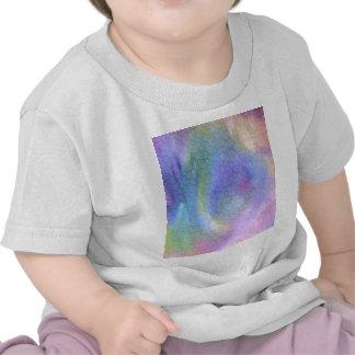 Colorful Cracks Abstract Tshirt