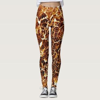 Colorful Crazy Unique Texture Leggings
