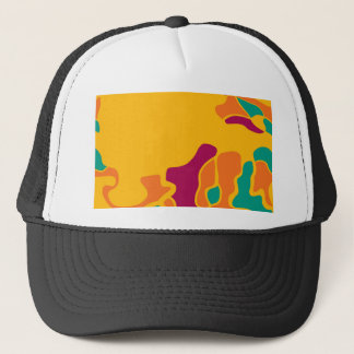 Colorful creativity trucker hat
