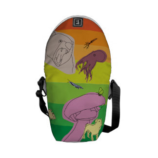 Colorful Creatures Commuter Bags