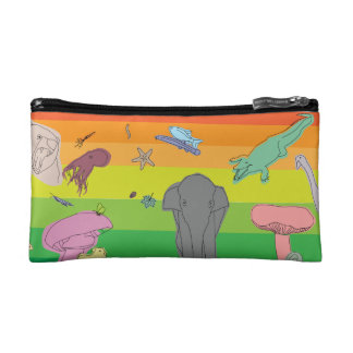 Colorful Creatures Makeup Bags