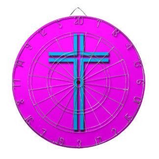 Colorful Cross Dartboard
