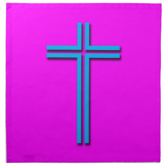 Colorful Cross Napkin