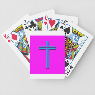 Colorful Cross Poker Deck