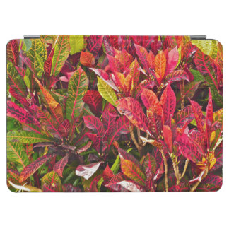"""COLORFUL CROTON PLANT/RED/GREEN/ ORANGE/YELLOW"" iPad AIR COVER"