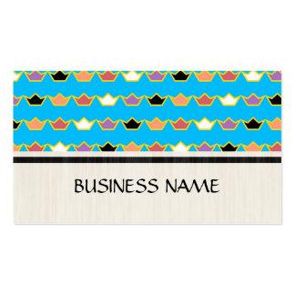 Retro crown business cards 179 retro crown busines card for Crown business cards