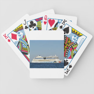 Colorful Cruise Ship Card Deck