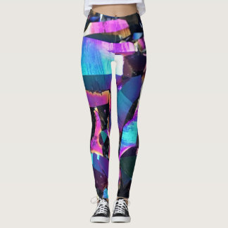 Colorful Crystal Geode Leggings
