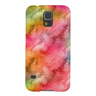 Colorful Crystal Glass Pattern Case For Galaxy S5