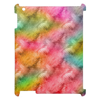 Colorful Crystal Glass Pattern iPad Covers