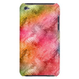 Colorful Crystal Glass Pattern iPod Touch Case