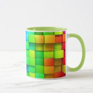 Colorful Cubes Mug