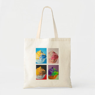 Colorful Cupcakes Canvas Bag