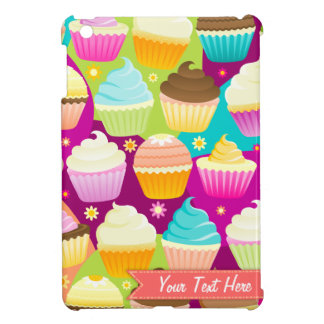 Colorful Cupcakes - Custom iPad Mini Case