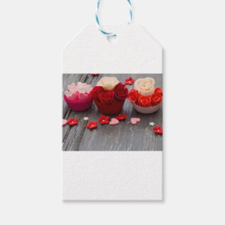 colorful cupcakes gift tags