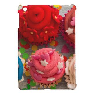 colorful cupcakes iPad mini cover