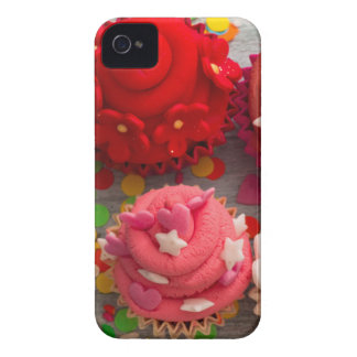 colorful cupcakes iPhone 4 case
