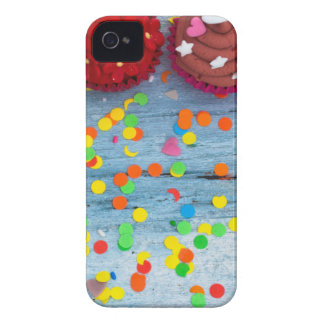 colorful cupcakes iPhone 4 Case-Mate case