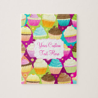 Colorful Cupcakes Puzzles