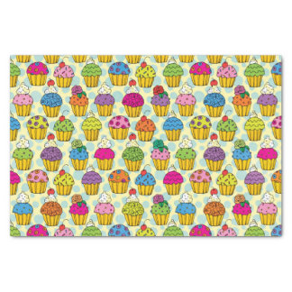 Colorful Cupcakes Tissue Paper