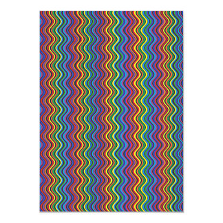Colorful Curves Card