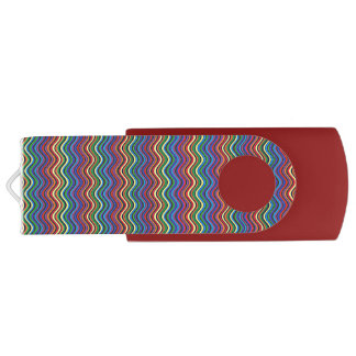 Colorful Curves USB Flash Drive