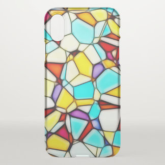 Colorful Custom iPhone X Clearly™ Deflector Case