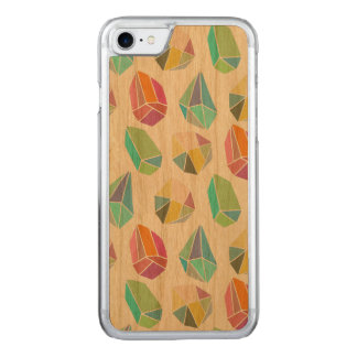 Colorful Cute Modern Crystals Pattern Carved iPhone 8/7 Case