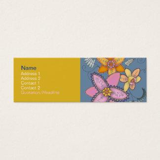 Colorful Daffodil Profile Cards