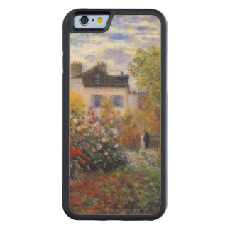 Colorful Dahlia Garden of Monet Carved® Maple iPhone 6 Bumper Case
