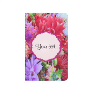 Colorful Dahlias Journal