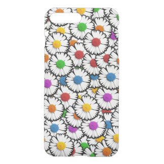 Colorful daisies iPhone 7 plus case
