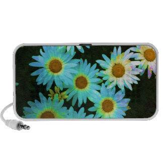 Colorful Daisies Notebook Speaker