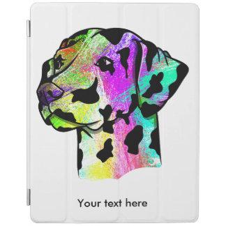 Colorful Dalmatian iPad Cover